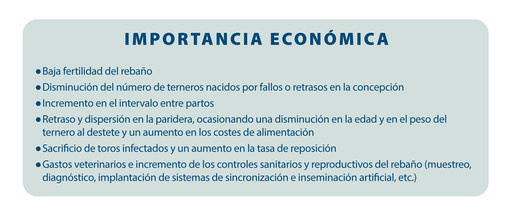importancia economica trichomona